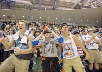 Students Cheering